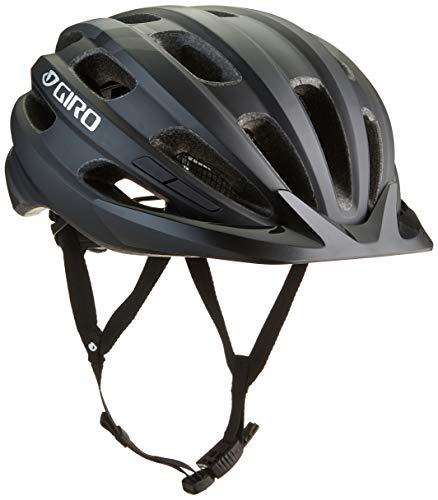 Giro Unisex– Erwachsene Register Fahrradhelm, Matte Black, One Size XL