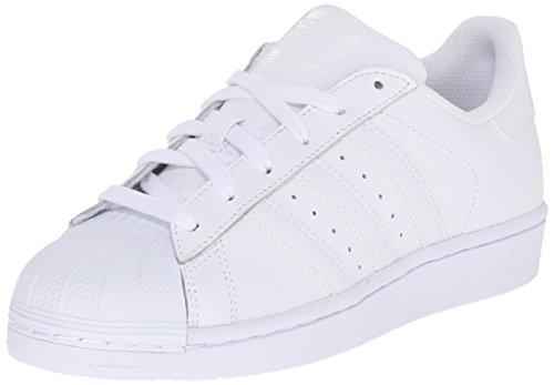 adidas Originals Superstar, Basket garçon, C Ur Blanc Blanc, 38/38.5 EU