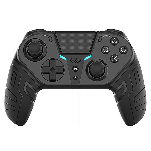 STARMOON Controlador de Juegos Inalámbrico para PS4 Controlador de Juegos Inalámbrico Programable Bluetooth con Botón Trasero Turbo para Consola PS4 Elite/Delgada/Pro