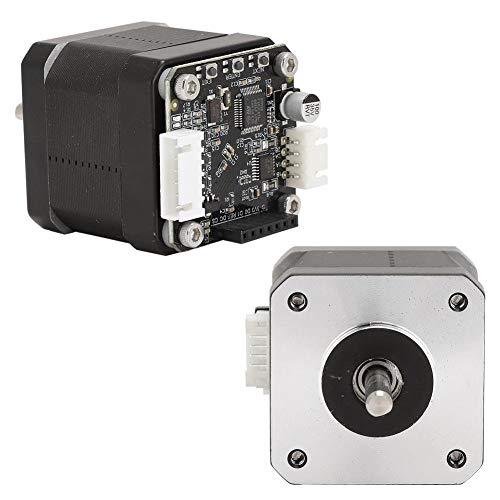 Naroote 【𝐒𝐩𝐫𝐢𝐧𝐠 𝐒𝐚𝐥𝐞 𝐆𝐢𝐟𝐭】 3D Printer Motor, 12V- 24V STM32 with Adapter Board Stepper Motor, for 3D Printer