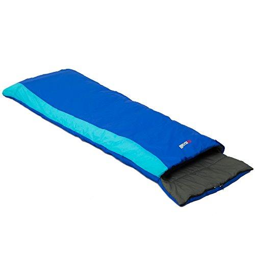 Mivall Kinderschlafsack Traumland Deckenschlafsack 160cm Schlafsack für Kinder (blau)