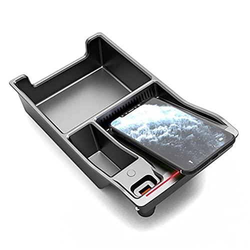 Cargador inalámbrico QI para coche de 15 W, funda de carga rápida, soporte para teléfono para Audi A4 B9 A5 S4 S5 RS4 RS5 2017-2021, accesorios