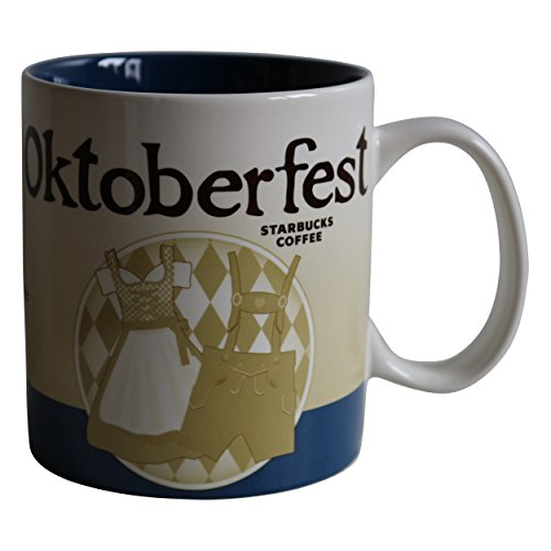 Starbucks City Mug Oktoberfest Coffee Cup Icon Serie Germany