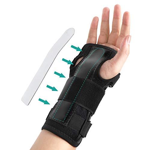 Handgelenkbandage Karpaltunnelsyndrom Schiene,Leicht Atmungsaktiv Handbandage Kompressionsband für Arthritis,Sehnenscheidenentzündung und die Stabilität Unterstützen, für Linke Rechte Hand