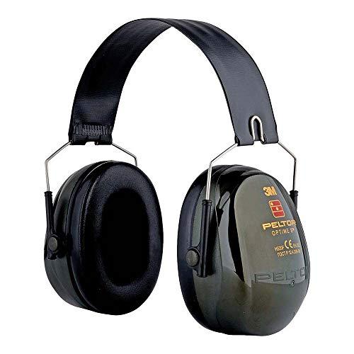 3M PELTOR Optime II Orejeras plegables Verdes 31 dB (1 orejera/caja), H520F-410-GB