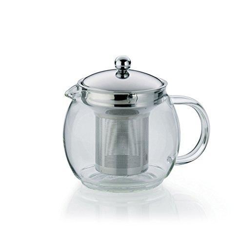 kela 11455Cylon (herausnehmbare klar Glas Teekanne mit Filter 13,5x 12,5x 14cm/0,75l