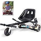 RONGJJ Hoverboard, Hoverboard Sedile Autobilanciato Kart Sedile Confortevole Hoverboard per Adulti Modello più Sicuro per Bambini con Classico 6,5 Pollici