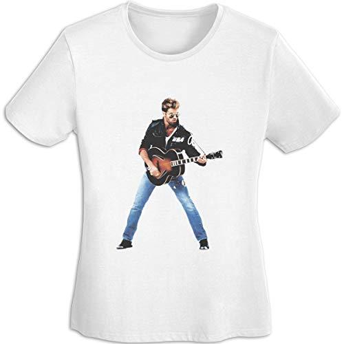 RWYZTX® George Michael Men Sports T-Shirts Short Sleeve Tee Black