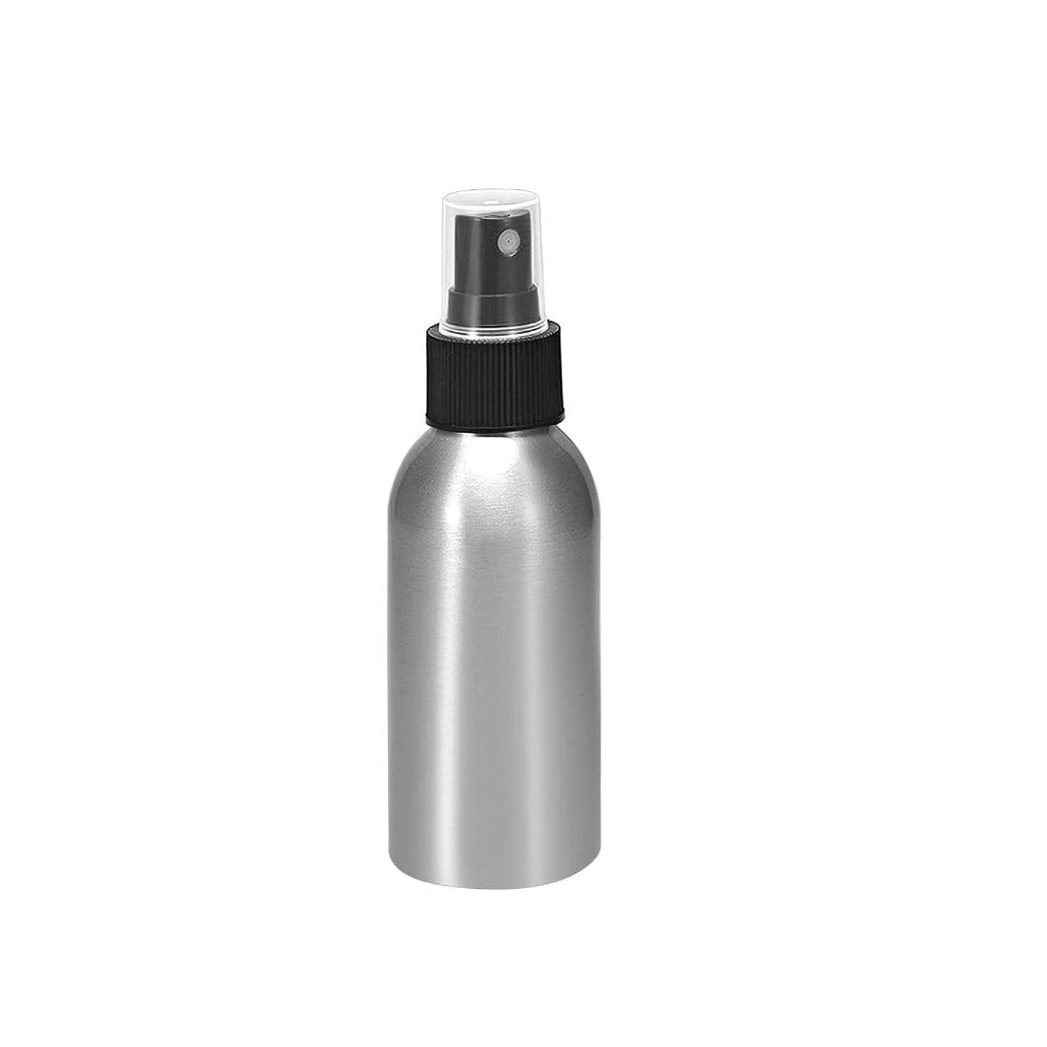 殺人者ガード休日にuxcell uxcell アルミスプレーボトル ブラックファインミストスプレー付き トラベルボトル 1.7oz/50ml