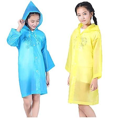 Reusable Rain Poncho for Kids