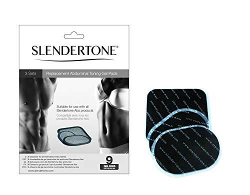 Slendertone Abs Belt Replacement Gel Pads, Triple Value Pack