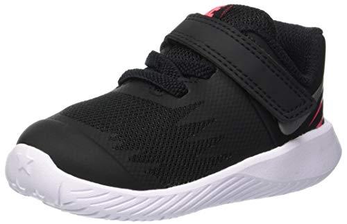 Nike Jungen Star Runner (Td) Toddler Hausschuhe, Mehrfarbig (Black/Metallic Silver-Racer Pink-Volt 004), 19.5 EU