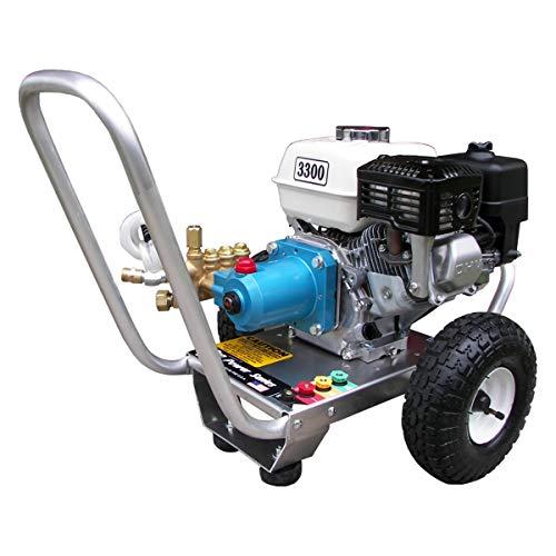 3300 PSI 2.5GPM Honda GX Cold Water Gas Pressure Washer w/Cat Pump