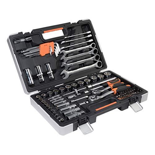 Werkzeugkoffer Werkzeugset Werkzeug im praktischen Koffer Universal Werkzeugkiste Werkzeugkasten...