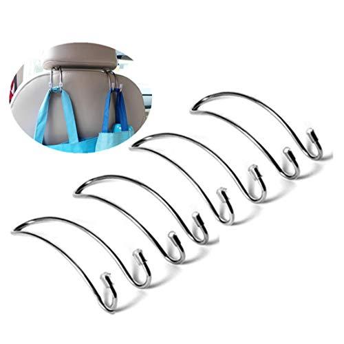 Auto Hooks Car Hangers, Pack of 4 Car Seat Headrest Hooks Heavy Duty Back Storage Hooks Hanger headrest Hooks for car