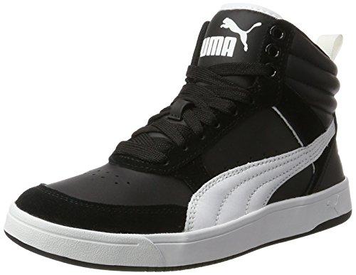 Puma Unisex-Erwachsene Rebound Street v2 Hohe Sneaker, Schwarz Black White, 44.5 EU