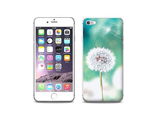 etuo Handyhülle für Apple iPhone 8 - Hülle Foto Case - Pusteblume - Handyhülle Schutzhülle Etui Case Cover Tasche für Handy