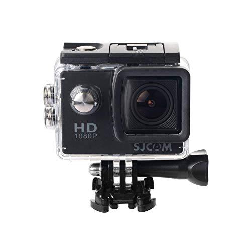 SJCam SJ4000 - Videocámara Deportiva (Full HD, 2'' LCD, Sumergible 30m) Color Negro (Reacondicionado)