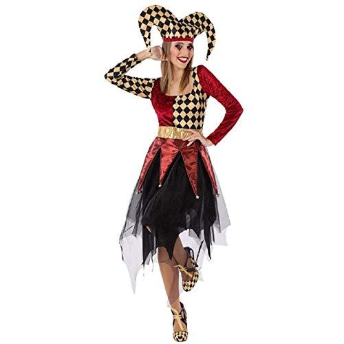 Atosa Atosa- Atosa-61558-Disfraz Arlequin-Adulto Mujer