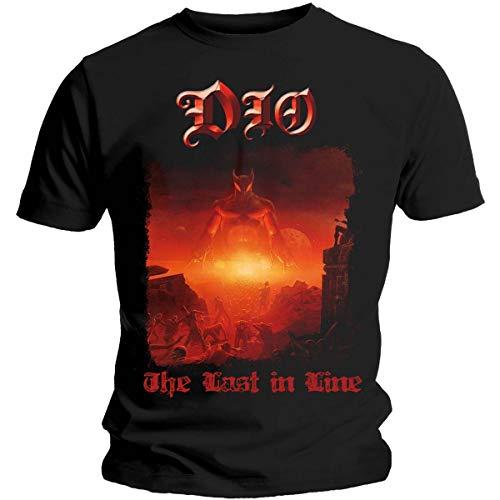 T-Shirt # M Black Unisex # the Last in Line