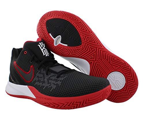 Nike Kyrie Flytrap II, Basketball Shoe Hombre, Negro/Blanco/Rojo Universitario/Antracita, 43 EU