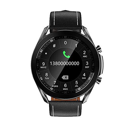 HDSJJD Smartwatch, Monitoraggio della Frequenza Cardiaca E della Pressione Sanguigna Chiamata Bluetooth Orologio Sportivo con Ghiera Girevole Bluetooth, Compatibile con Android, iOS,A