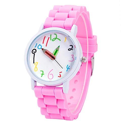 SFBBBO Reloj niño Nuevos Relojes de Pulsera para niños Relojes de Moda...