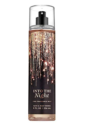 Bath and Body Works INTO THE NIGHT Fine Fragrance Mist 8 Fluid Ounce (2019 Limited Edition)
