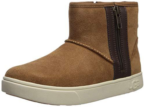 UGG Kid's Male Adler Sneaker Shoe, Chestnut, 4 (UK),36.2(EU)