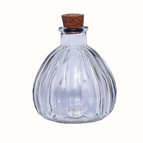 Black Temptation DIY Cristal Que Deseen Las Botellas Origami Star Glass Jar Set de 2
