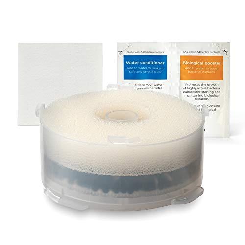 biOrb 46014 Kit con Cartucho de Filtración, Tratamiento para El Agua y Toallita de Limpieza, Un tamaño