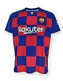 Camiseta 1ª equipación FC. Barcelona 2019-20 - Replica Oficial con Licencia - Dorsal Liso - Adulto Talla M