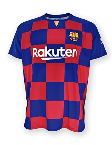 Camiseta 1ª equipación FC. Barcelona 2019-20 - Replica Oficial con Licencia - Dorsal Liso - Adulto Talla XL