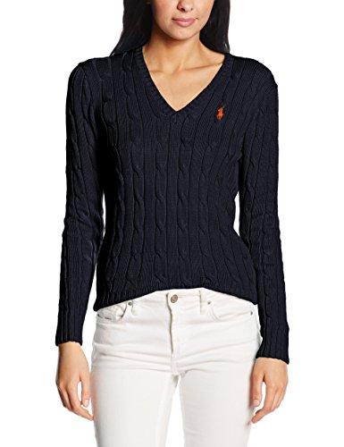 Polo Ralph Lauren Damen V39IE168CE149 Sweatshirt, Blau (Hunter Navy B4E08), Large
