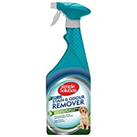 Simple Solution Rain Forest Fresh stain & odour remover has a refreshing Rain Forest Fresh scent and a professional strength formula of Pro-Bacteria and enzymes to break down and eliminate stains and odours The formula has been specifically designed ...