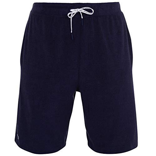 Lacoste Herren GH3463 Pyjamahose, Männer Pyjama-Unterteil,Schlafanzughose,Jogginghose,Sweatpants,Loungewear,Blau,L