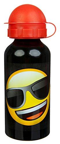 Scooli EMLG9890 Alu Flasche, Emoji, ca. 400 ml