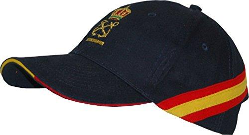 Gorra Bandera España Patrón de Embarcación de Recreo (per)