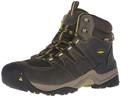 KEEN Men's Gypsum II Mid Wp-m Backpacking Boot, Forest Night/Warm...