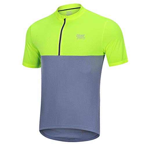 Souke Sports Mens Cycling Jersey...