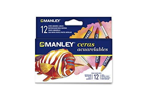 Manley MNQ000412 - Ceras, 12 unidades