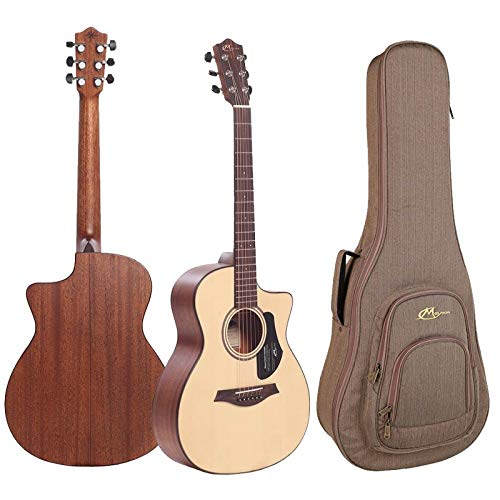 Mayson ATLAS E akoestische gitaar Mini Jumbo mat incl. tas