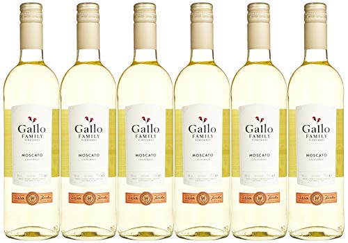 Gallo Family Vineyards Moscato Ernest und Julio  Süß (6 x 0.75 l)