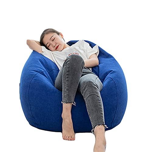 Funda Pera Tela Suave Silla niños y Adultos (sin Relleno) Soft Stuffable Zipper Storage Puffs Pera Durable Máquina de construcción de Doble niños Adultos…