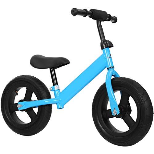 No-Pedal Balancen-Fahrrad, Strider Balancen-Fahrrad Mit Luft Gefüllten Gummireifen, 7 Lbs Leicht, Höhenverstellbarem Sitz, 12 Zoll Laufräder For Kleinkinder Alter 2-5 Jahre ( Farbe : Blau )