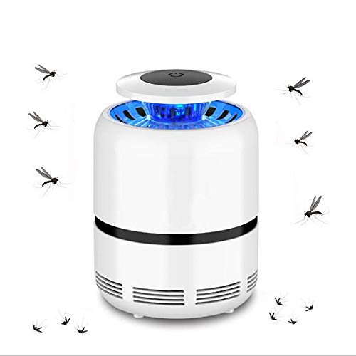 GAIGAI Anti-Mosquito De La Lámpara, Inteligentes UV Luces LED, Hogar Plug-In Anti-Mosquitos Plug-In Mosquito Killer Bug, Usada para El Dormitorio, La Sala De Estar,Negro