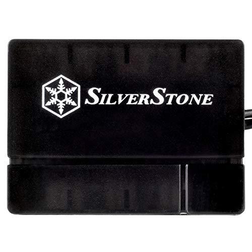 SilverStone Technology Silverstone 8-Port PWM Fan Hub/Splitter for 4-Pin