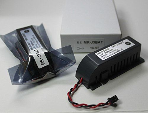 TOPCHANCES 2 Pack PLC Battery Replacement for MR-J3BAT 3.6V 2000mAh Mitsubishi ER6VC119A/B MELSERVO M70