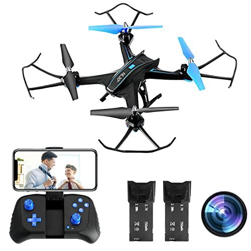 NL30° Drone con fotocamera FPV HD 1080P, Posizionamento del flusso ottico, Volo di traiettoria,...