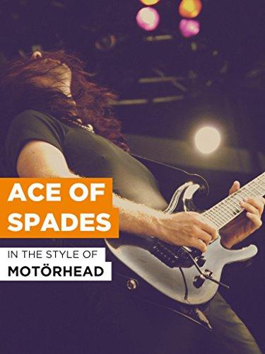 """Ace Of Spades im Stil von """"Motörhead"""""""